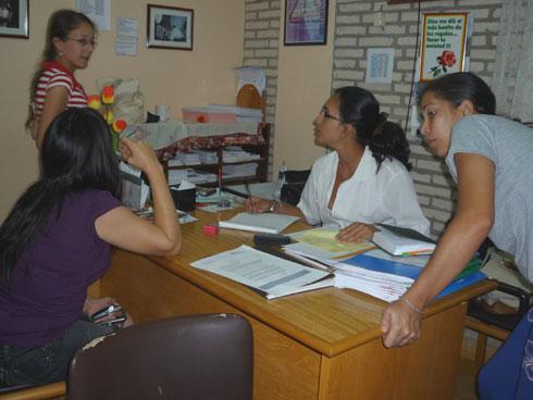 Beratung durch die Sozialarbeiterin
